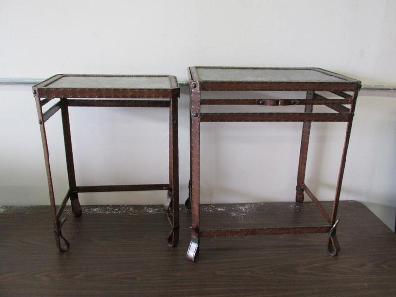Auction Nation Auction Albuquerque Model Home Furniture Decor Auction Item Set Of 2 Metal
