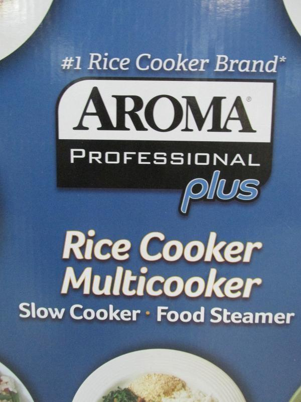 aroma professional plus rice cooker instructions