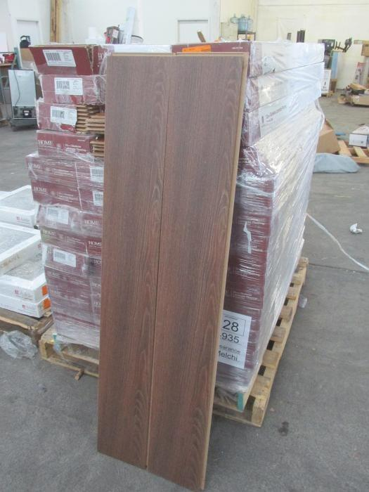 PALLET Of (44) Boxes Of HOME DECORATORS COLLECTION 12mm Bronze Oak Laminate  Flooring,