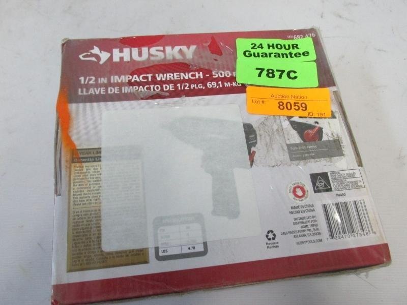 fb6d7735dd9a Auction Nation - Auction  PHOENIX Tools and Contractor Supply Auction Pt. 2  9 17 15 ID 186 ITEM  HUSKY 1 2