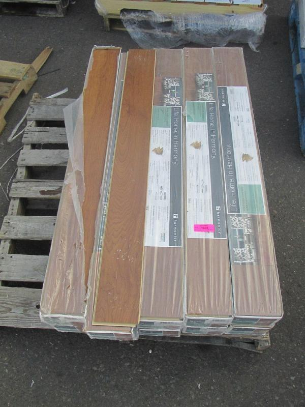 Auction Nation Auction Glendale Flooring Pallet Lot Auction 1222