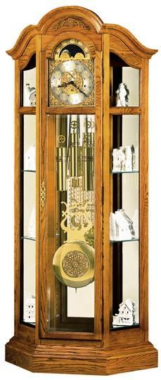 Howard Miller 610 844 Haverhill Curio Grandfather Clock Manufacturer: Howard  Miller Curio Grandfather Clocks