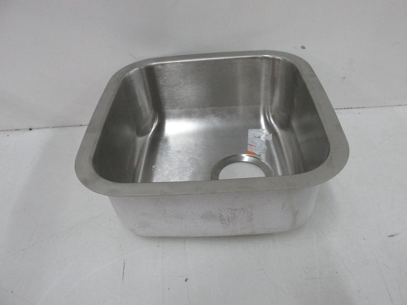 ... BLANCO Stellar Stainless Steel Undermount Residential Bar Sink, Model  514577 (Appears New) ...