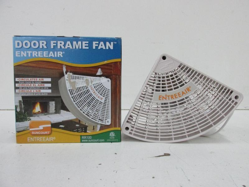 single speed door frame fan model rr100 new - Door Frame Fan