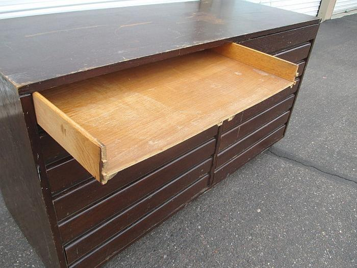 missing one drawer highly collectible vintage cross country sligh furniture 8 drawer dresser solid wood