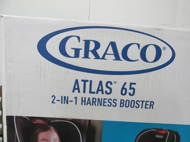 Graco Atlas 65 2 In 1 Harness Booster Car Seat Glacier 1946242
