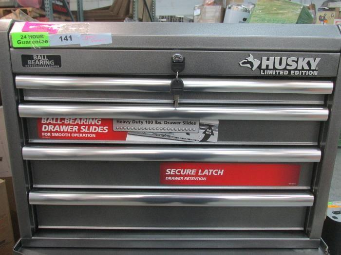 husky limited edition ball bearing tool box