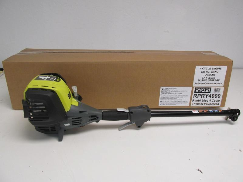 Auction Nation - Auction: GLENDALE Refurbished RYOBI 4 Cycle