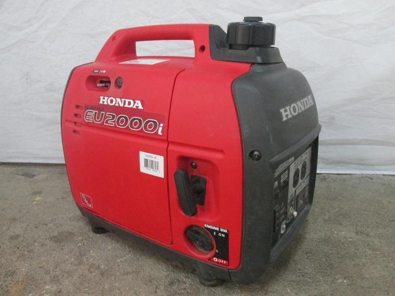 HONDA 2000 Watt Super Quiet Gasoline Powered Portable Companion Inverter  Generator With Eco Throttle