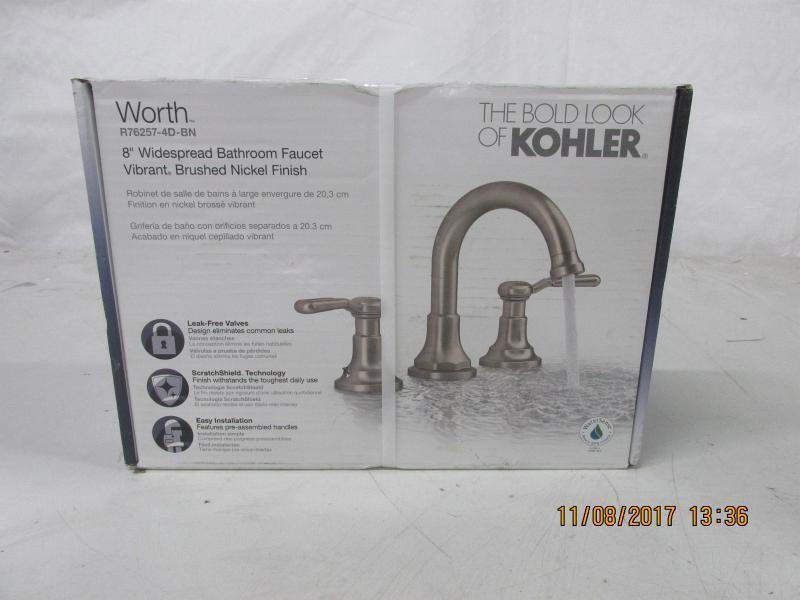 Auction Nation Auction GLENDALE Com Home Improvement Online - Kohler worth bathroom faucet