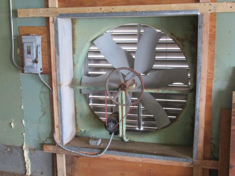 Auction nation auction cherry valley ca onsite egg for Industrial exhaust fan motor