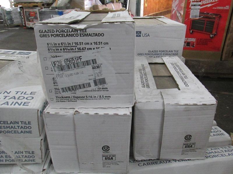 Auction Nation - Auction: GLENDALE Flooring Pallet Lot Liquidation ...