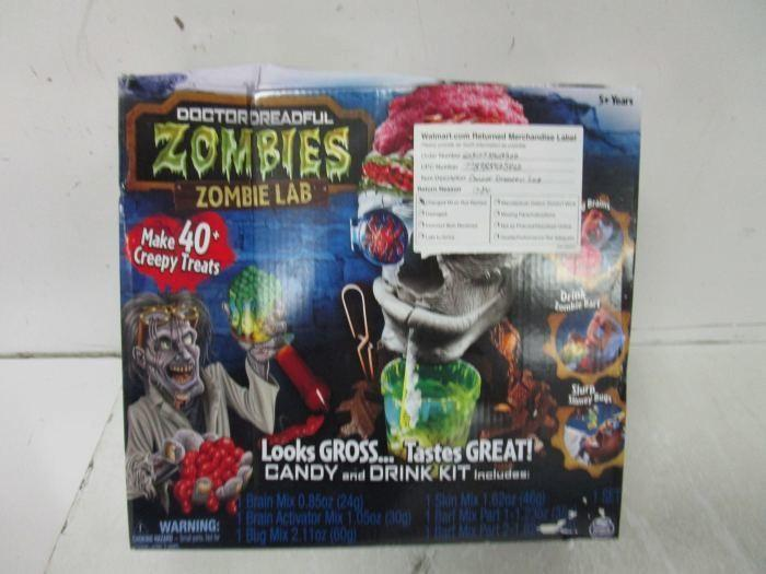 doctor dreadful zombie lab instructions