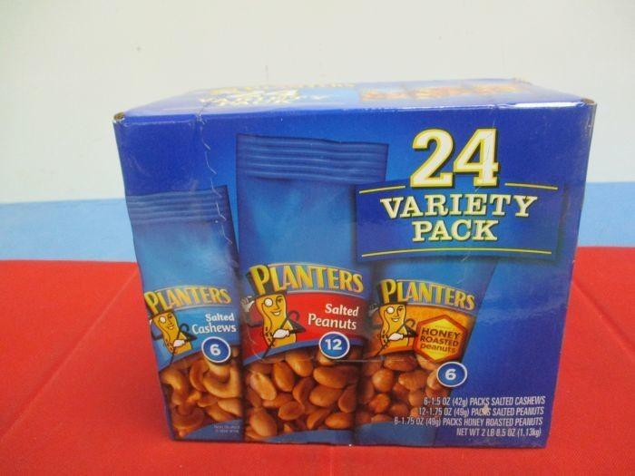 Auction Nation - Auction: NORTH PHOENIX, AZ Food and Beverage Part on planters peanuts variety, planters peanuts individually wrapped, planters nutrition pack, blue diamond nuts pack, planters honey roasted peanuts, peanut planter pack, planters heat peanuts,