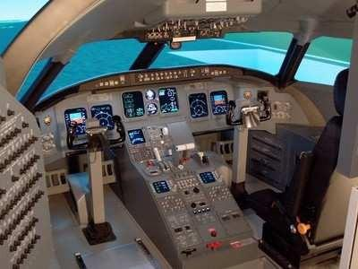 Wicat CRJ-200 Regional Jet FTD Commercial Flight Simulator Training Device  - Original Purchase Value 601fa09bf