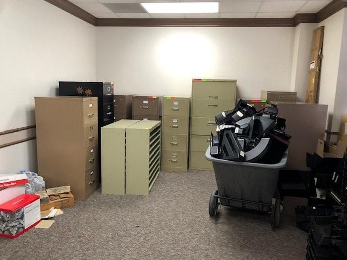 Auction Nation   Auction: AUSTIN, TX Bulk High End Office Furniture Auction  01/17/19 ID:15675 ITEM: Large Group Of Office Furniture And Supplies  Including ...