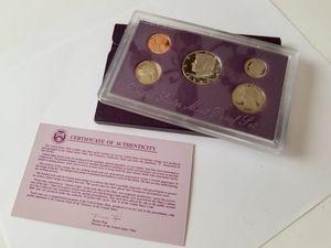 1990 United States Prestige Proof  Set With Box /& COA Check Pics!!